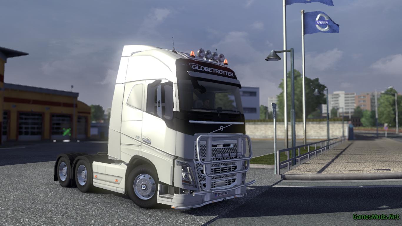 Volvo Fh 2013 tuning » GamesMods.net - FS19, FS17, ETS 2 mods