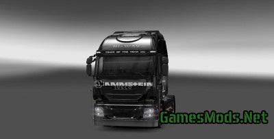 Rammstein Skin for Iveco v1.0