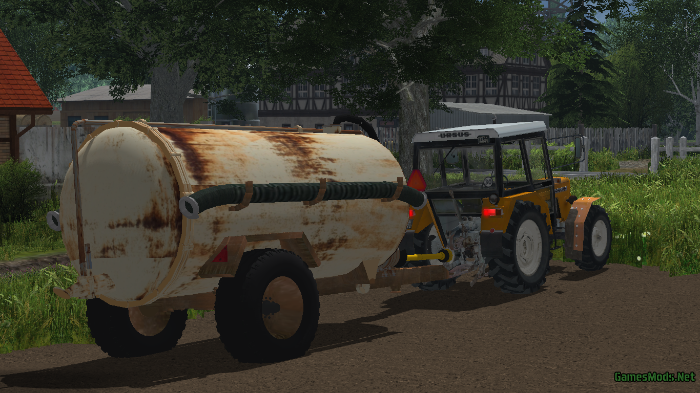 Rusty Slurry Tanker » GamesMods.net - FS 2015, ETS 2 mods