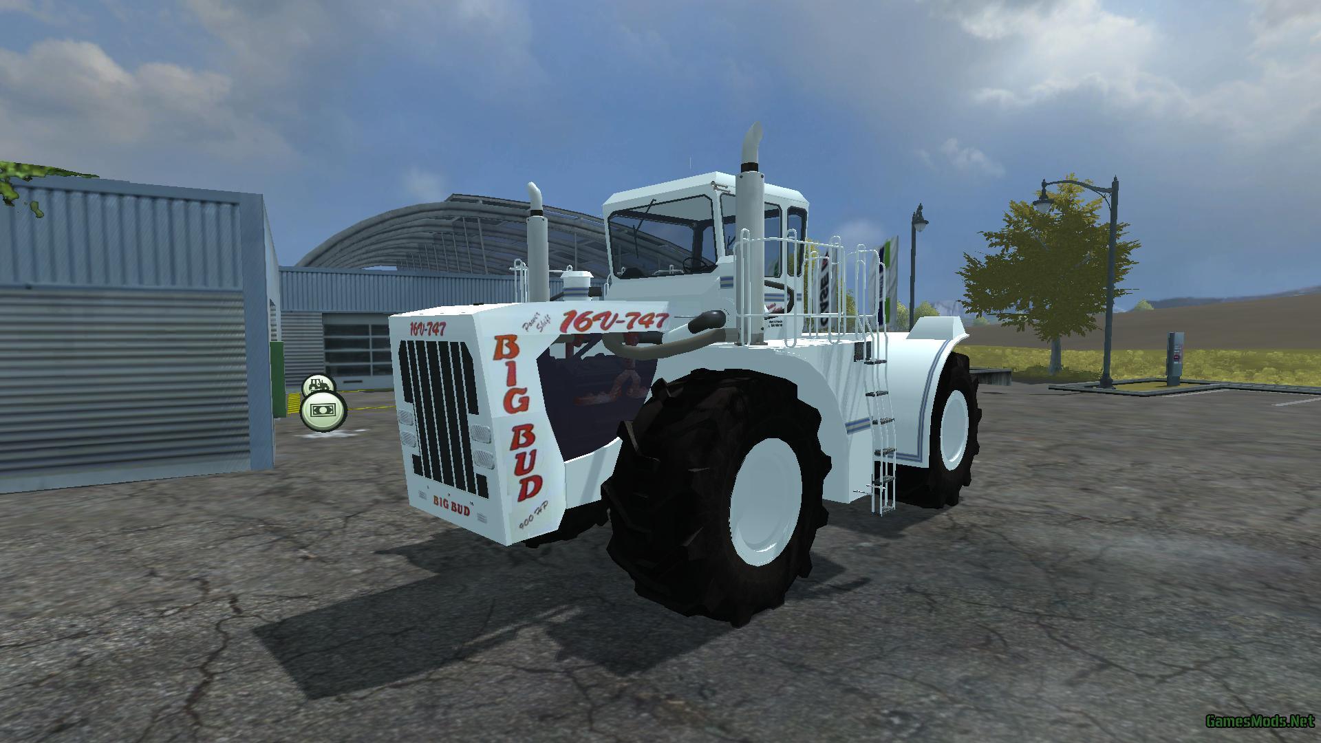 Big Bud 747 >> BIG BUD 16V 747 New wheels » GamesMods.net - FS17, CNC ...