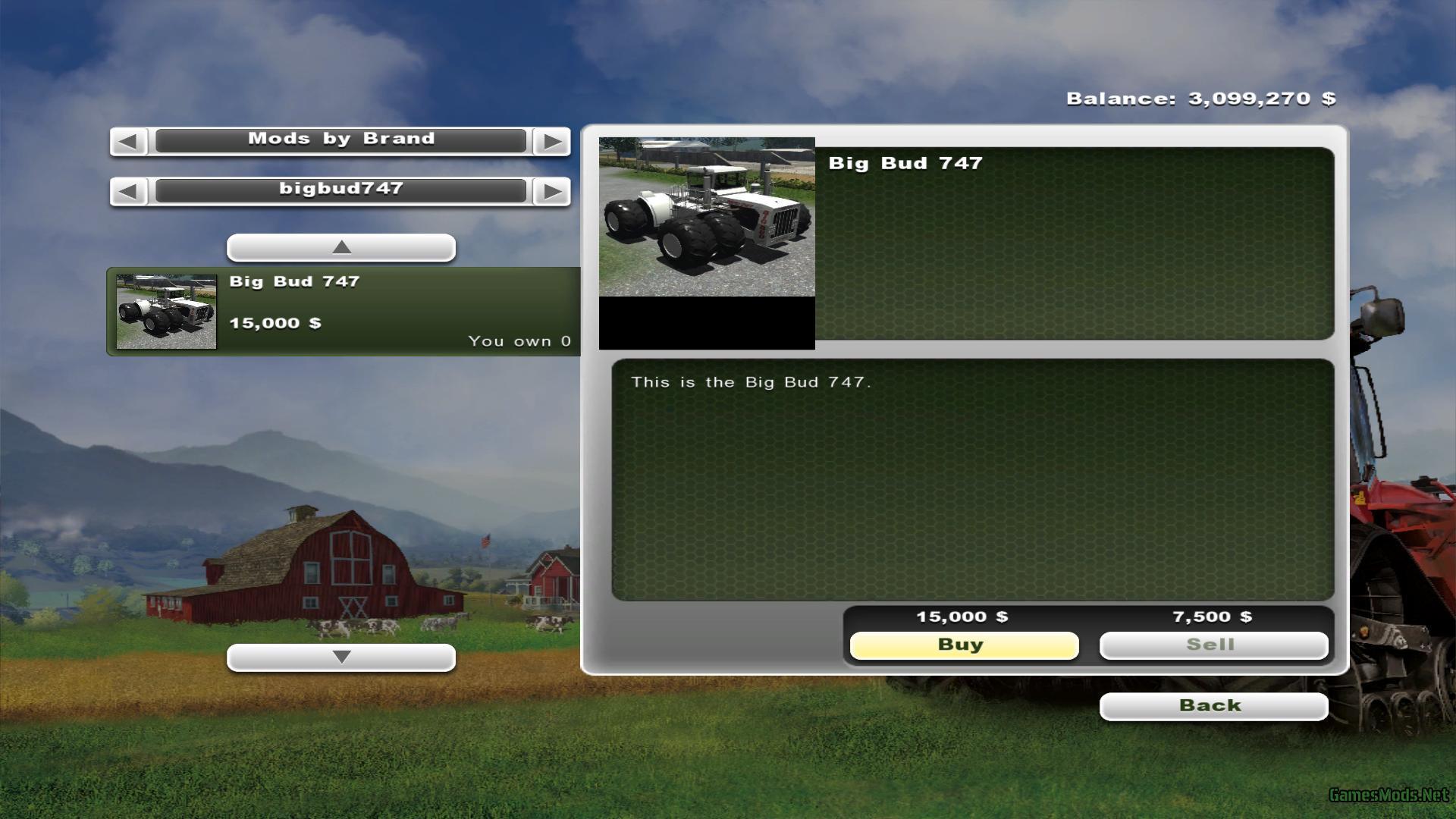 Big Bud 747 >> BIG BUD 16V 747 New wheels » GamesMods.net - FS19, FS17, ETS 2 mods