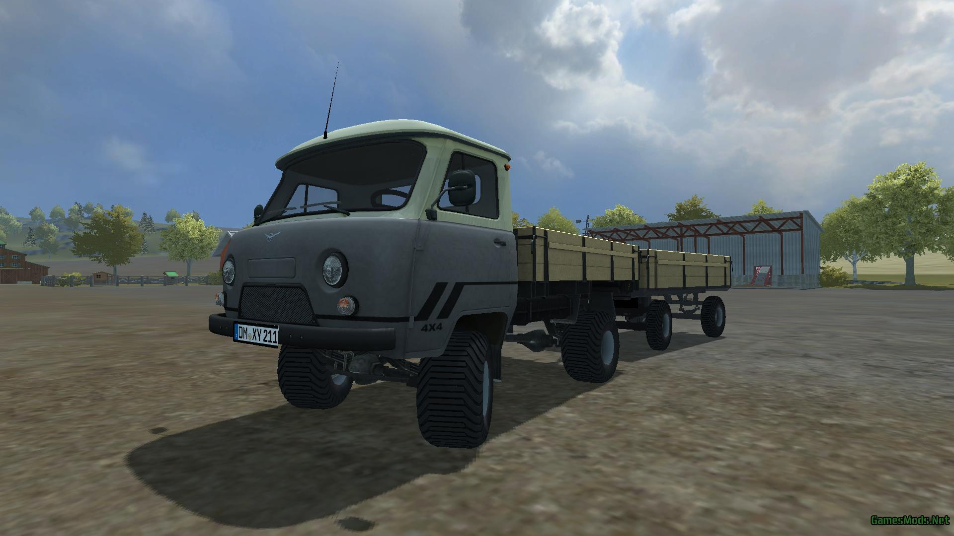 uaz 452 pack fs17 cnc fs15 ets 2 mods. Black Bedroom Furniture Sets. Home Design Ideas