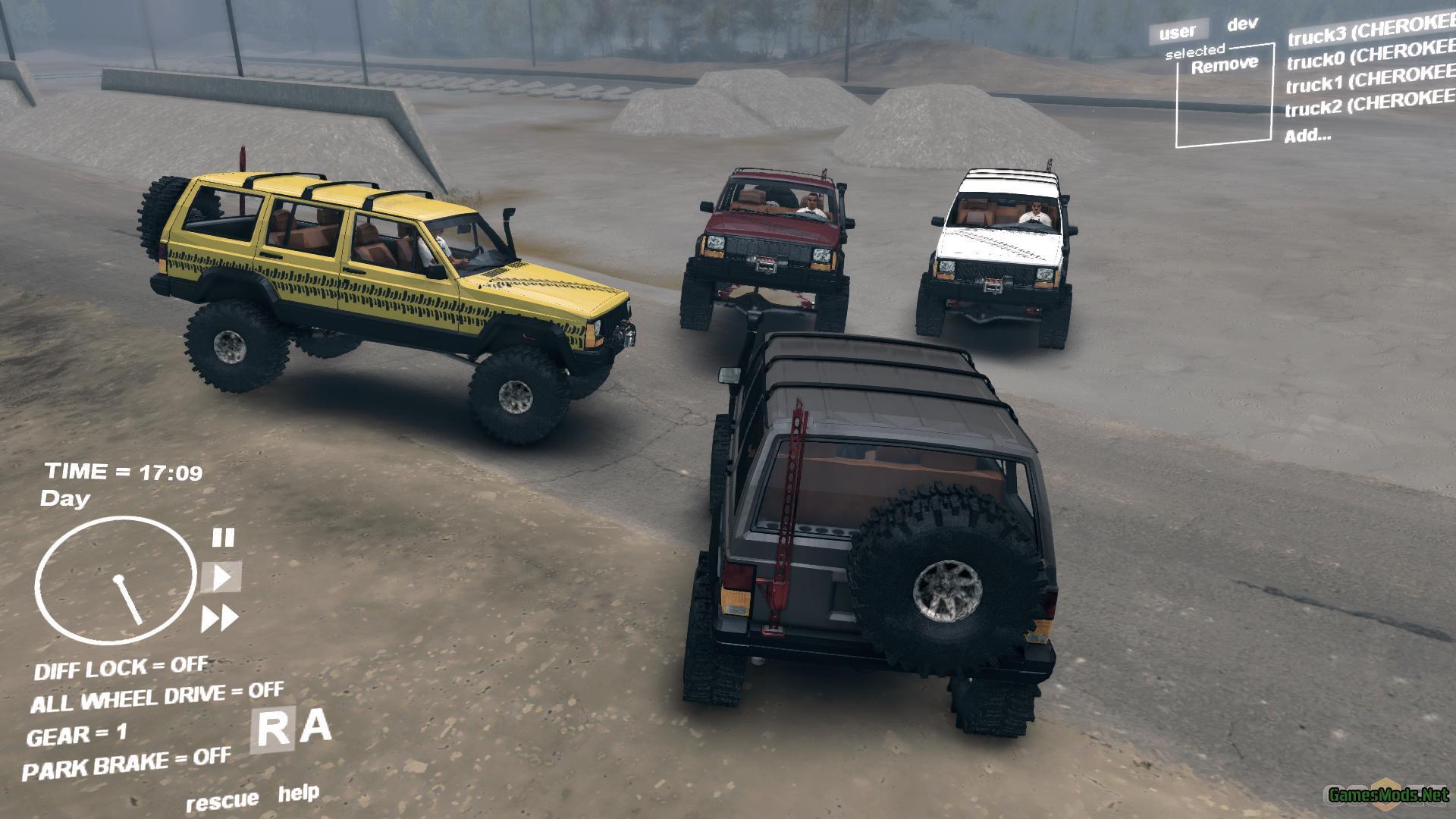 Jeep Cherokee Xj Gamesmods Net Fs19 Fs17 Ets 2 Mods