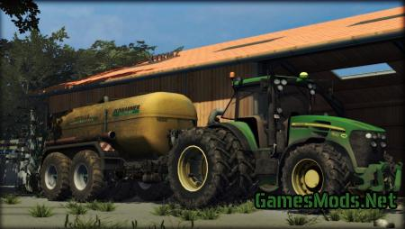 JOHN DEERE 7930 + WEIGHT