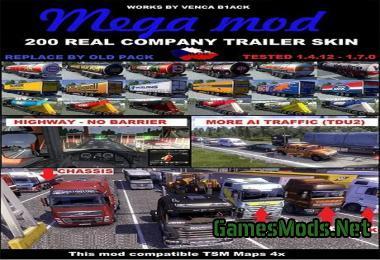 mega pack v2 187 gamesmodsnet fs19 fs17 ets 2 mods