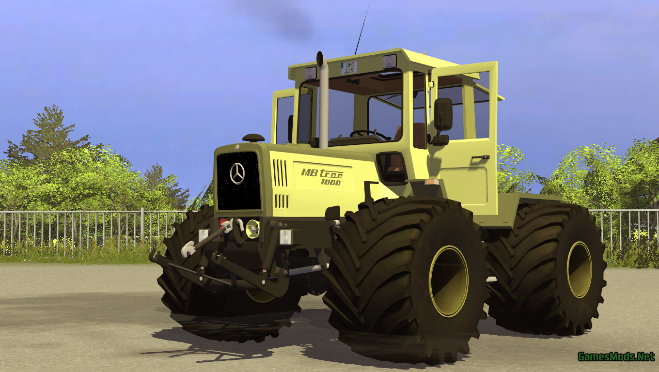 MB Trac 1000 » GamesMods.net - FS 2015, ETS 2 mods