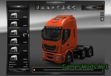 IVECO STRALIS 2007 / HY-WAY 2012 REAL SPECIFICATIONS