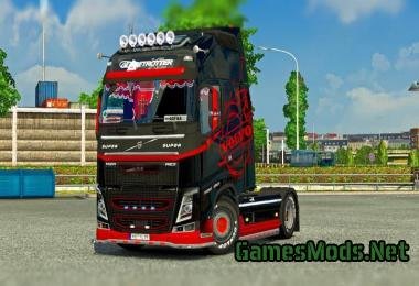 Indian Volvo Bus mod with Skins of Volvo B7R, B9R, B11R +