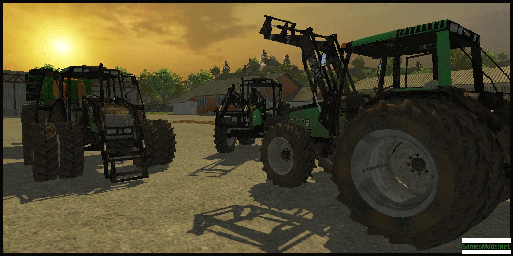 Valtra Valmet 6800 FL » GamesMods.net - FS19, FS17, ETS 2 mods