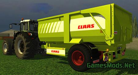 Krampe BBE 500 Claas Edition