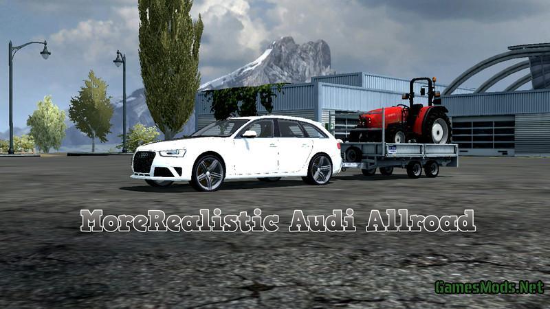 Audi Allroad v1.0 MR » GamesMods.net - FS17, CNC, FS15 ...