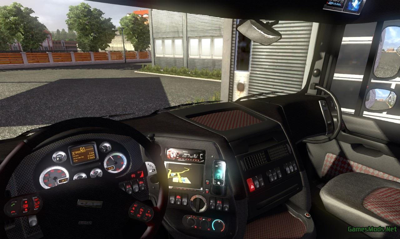 Heavy Metal DAF interior by Nasud » GamesMods.net - FS17, CNC, FS15 ...
