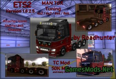 MAN TGX BIG TUNING