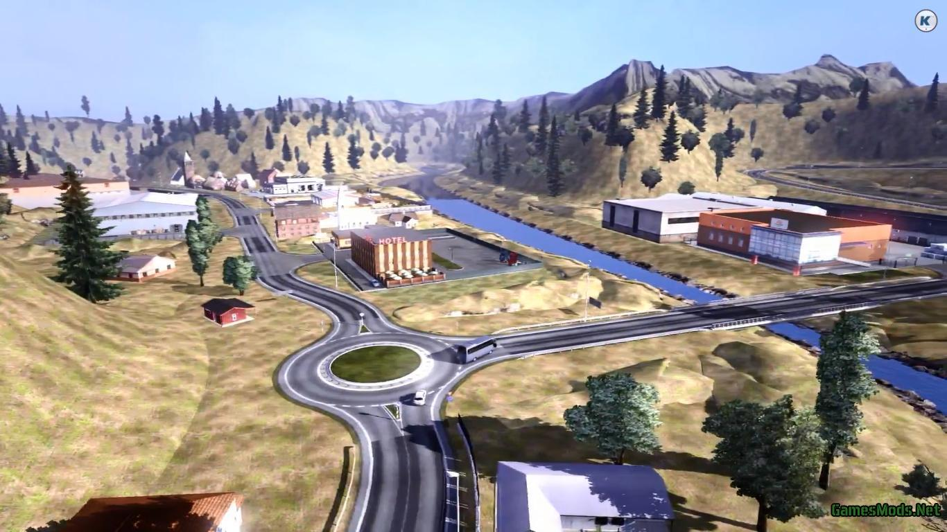 ets2 europe & africa map multimod