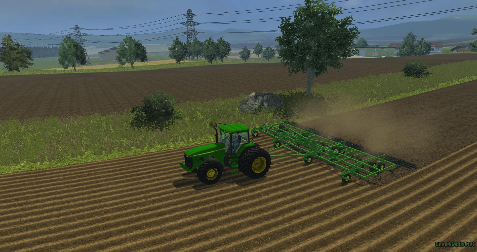 John Deere 2410 Chisel Plow » GamesMods net - FS19, FS17, ETS 2 mods
