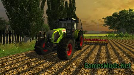 Claas Axion 820 V2 FrontLoader