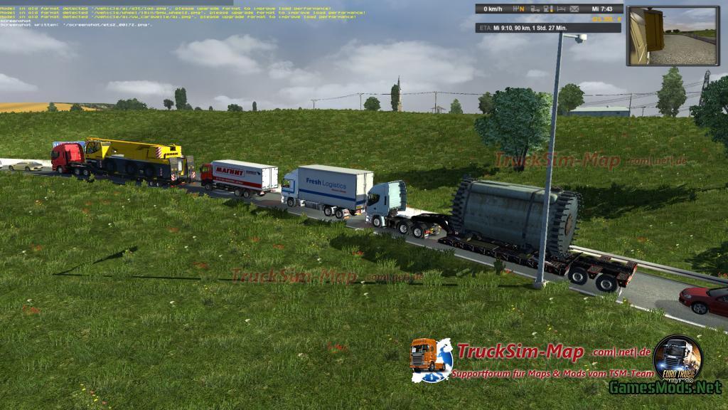 Multi Traffic Mod v5.2 » GamesMods.net - FS17, CNC, FS15 ...