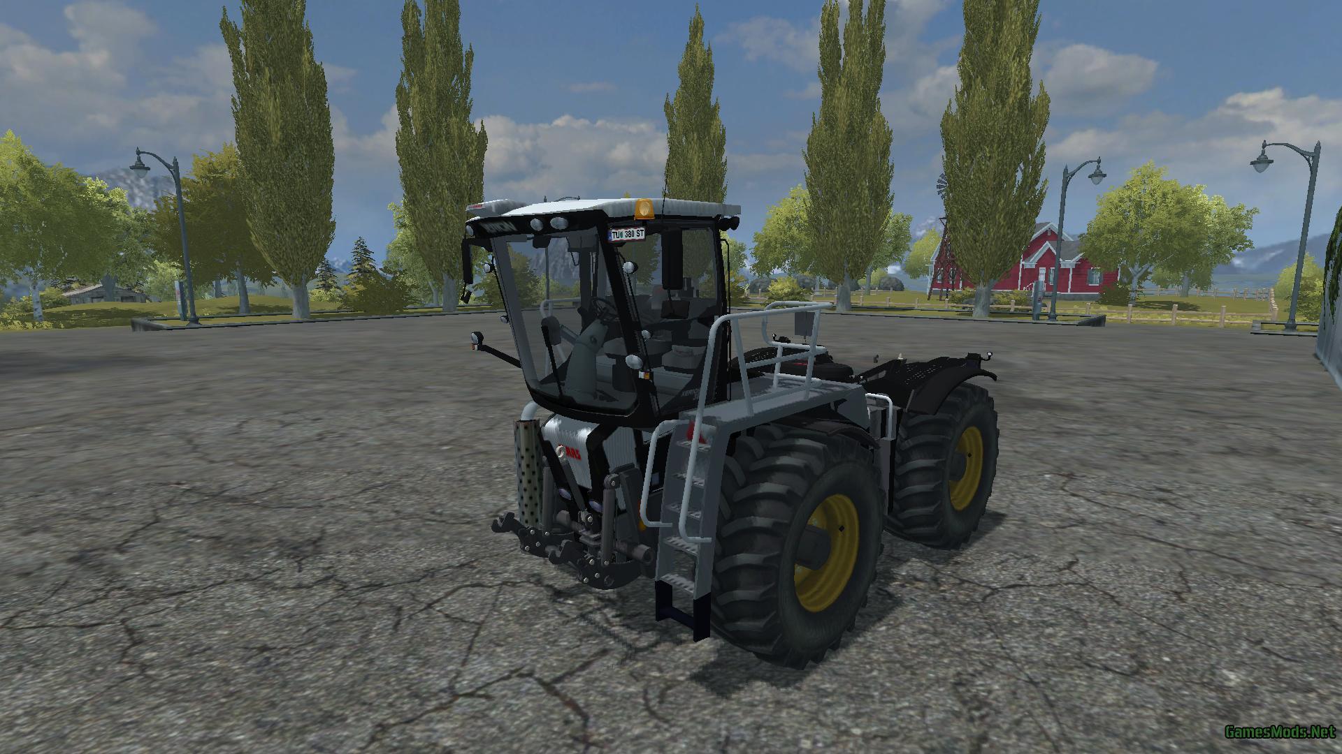 SADDLETRAC 3800 V1 0 MORE REALISTIC BLACK » GamesMods net
