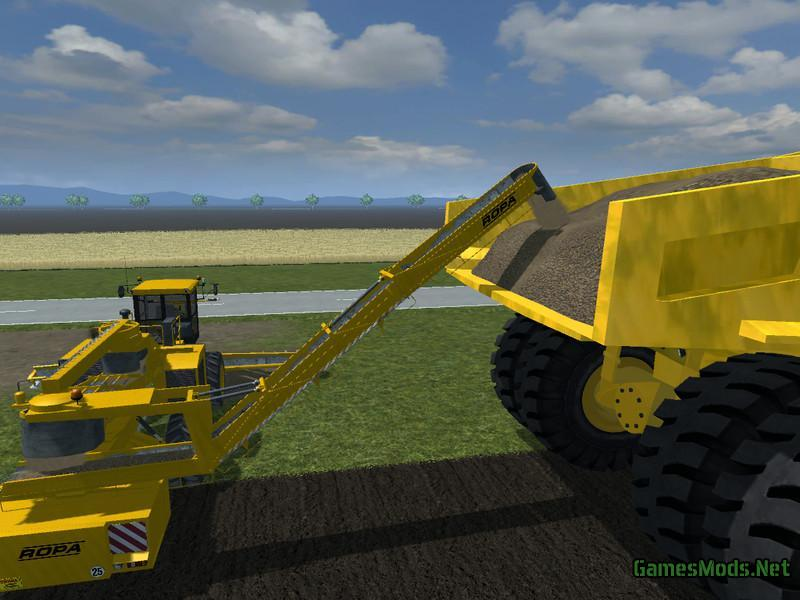 CAT DUMPER 797 V2 0 » GamesMods net - FS19, FS17, ETS 2 mods