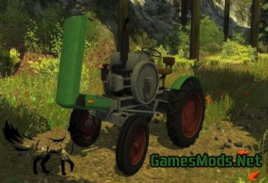 Age homemade tractor v1 0 MR » GamesMods net - FS19, FS17
