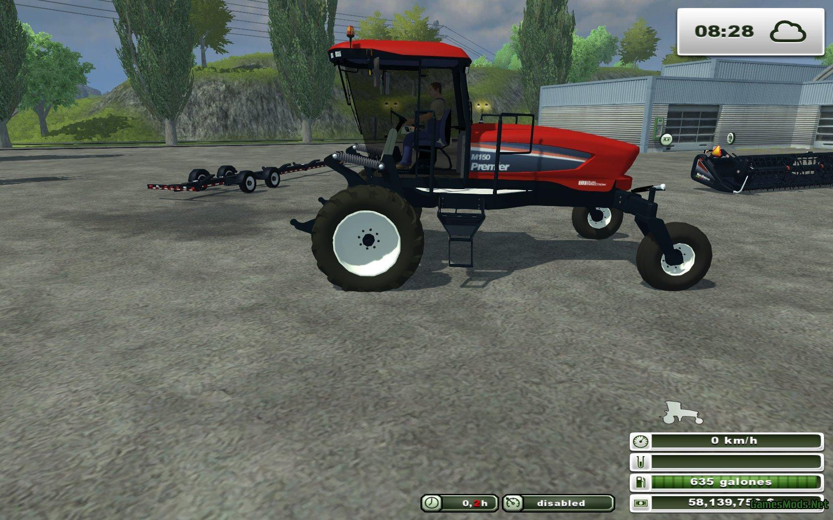 PACK MACDON M150 WINDROWER 3 » GamesMods.net - FS17, CNC ...