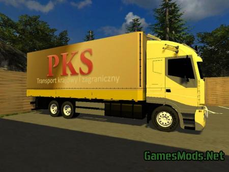 IVECO MODEL YELLOW V1.0