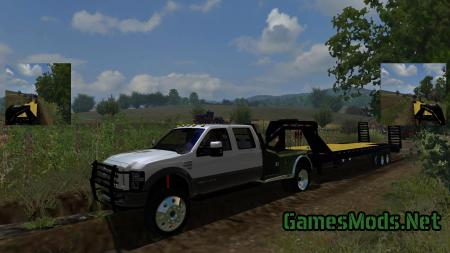 2010 FORD SUPER DUTY F-350 DRW CREW CAB 4X4 WITH WHF MORE REALISTIC