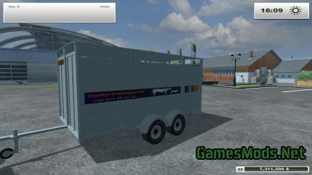 IMT Cattle Trailer