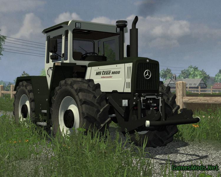Mercedes tractors