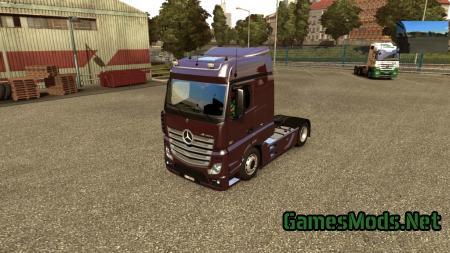 Mercedes Actros MP4 v 4.0