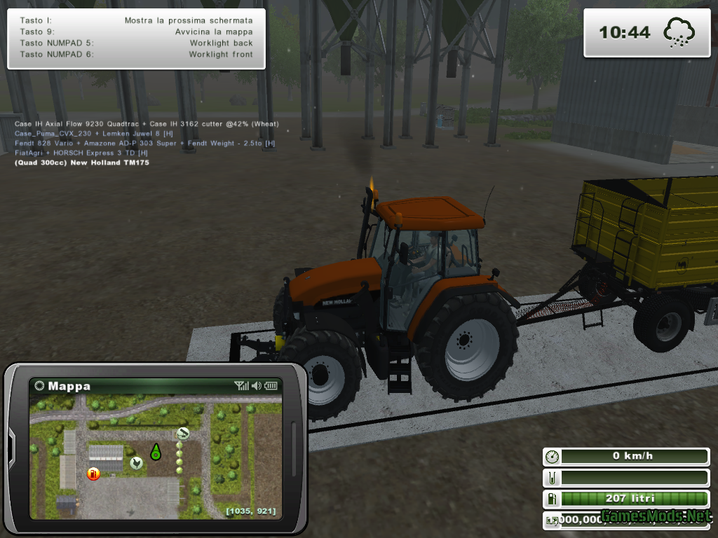 New Holland M100 » GamesMods.net - FS17, CNC, FS15, ETS 2 mods