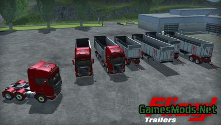 Fliegl TMK 469SC Trailers Pack