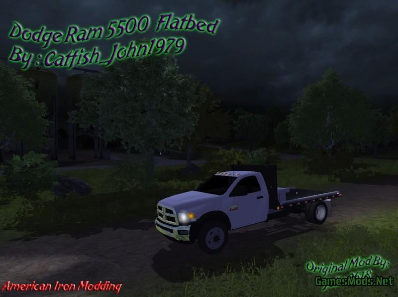 dodge ram 5500 flatbead v 1 0  u00bb gamesmods net