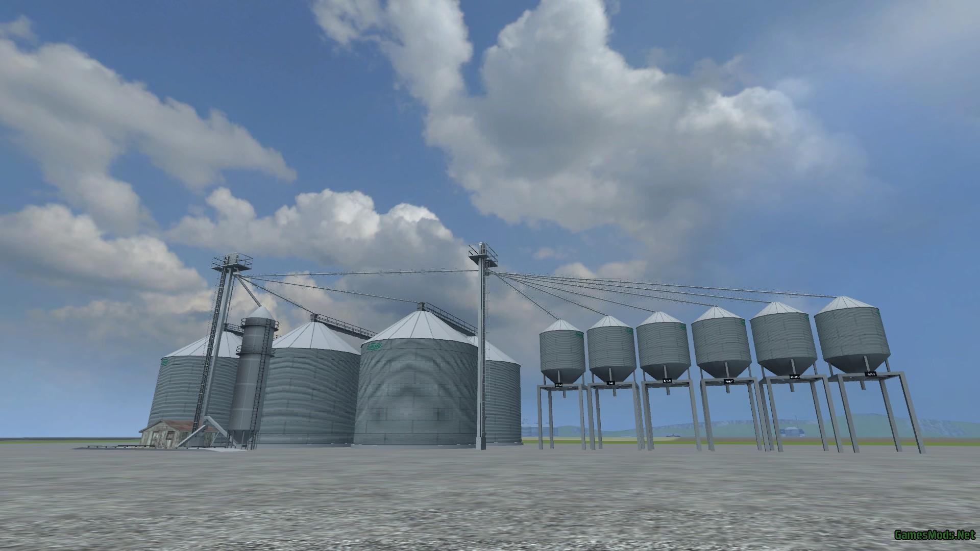 ALL AMERICAN FARM V GamesModsnet FS CNC FS ETS Mods - Fs15 us maps