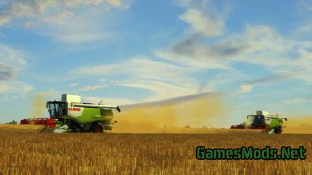 Claas Lexion 7 series mega pack