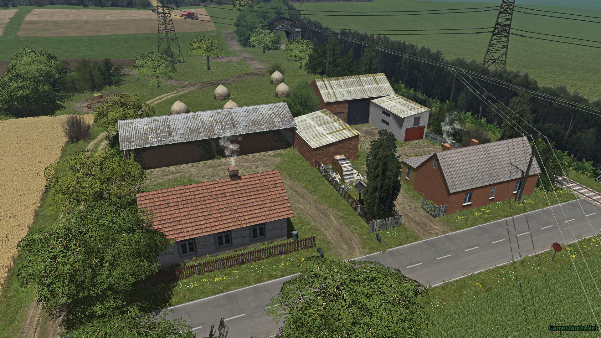 Polish Small Village v1 » GamesMods.net - FS17, CNC, FS15, ETS 2 mods