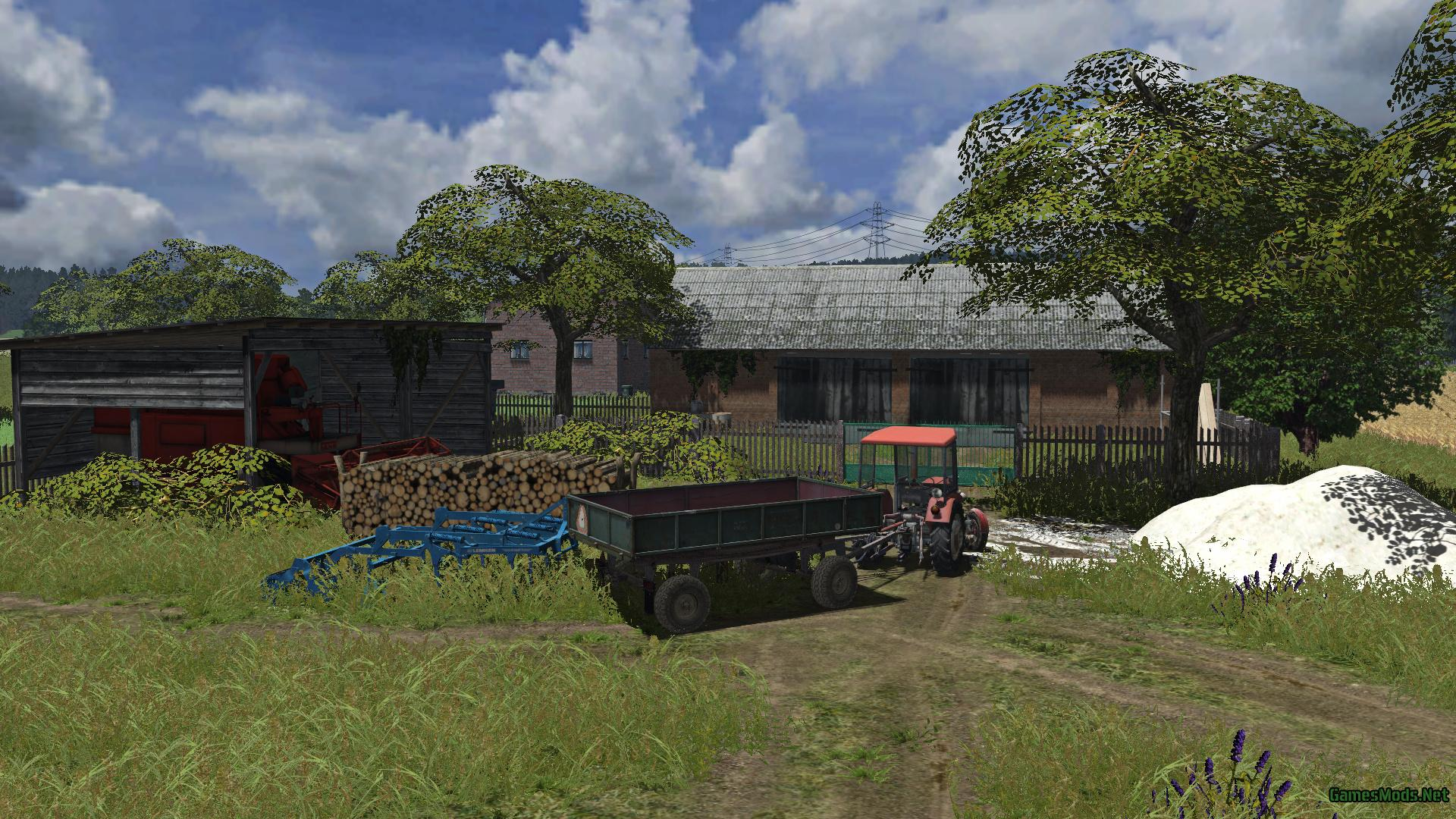 Polish Small Village V1 187 Gamesmods Net Fs19 Fs17 Ets