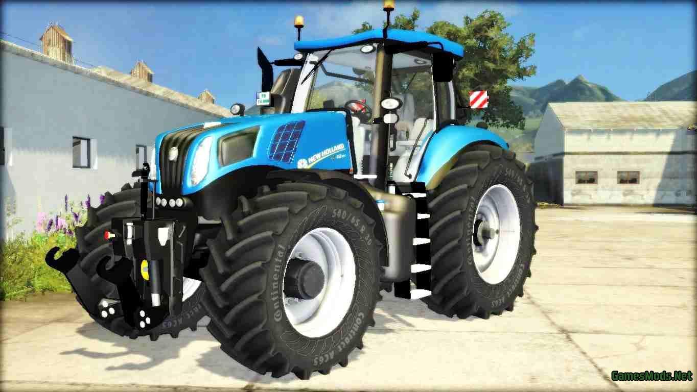 New Holland T 8.300 V2