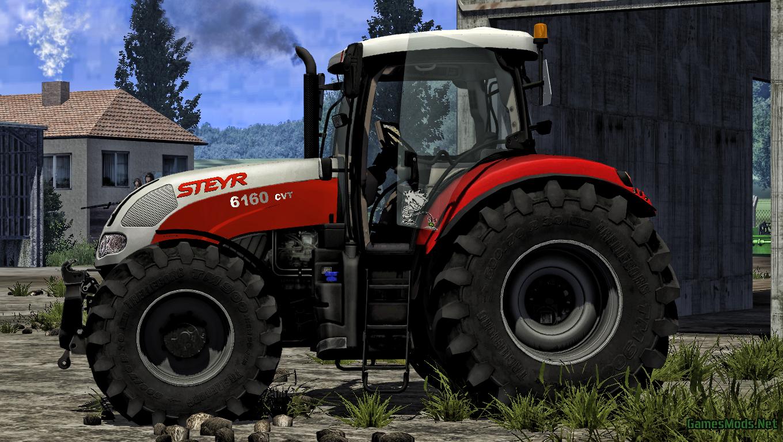 Steyr 6160 CVT » GamesMods.net - FS17, CNC, FS15, ETS 2 mods