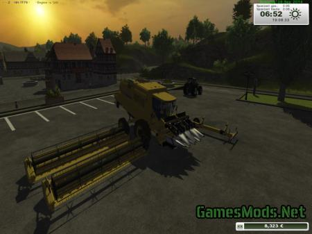 New Holland TF 78 Hangdrescher V 1.0