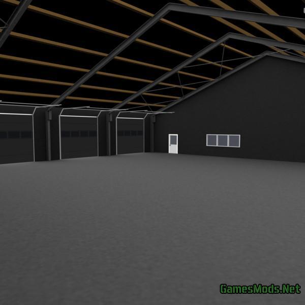 Garage Hall V 1.0 » GamesMods.net - FS17, CNC, FS15, ETS 2 ...