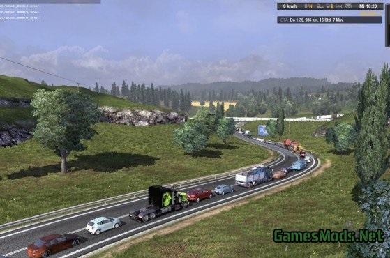 Kilroy Traffic Mod V 8(updated) » GamesMods net - FS19, FS17