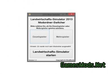 LS13 MODFOLDER SWITCHER V1.1.2