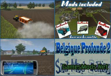belgique profonde 2 soil mod edition fs17 cnc fs15 ets 2 mods. Black Bedroom Furniture Sets. Home Design Ideas