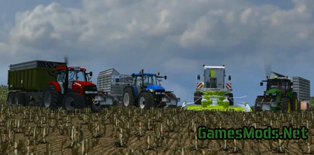 ModPack to corn silage