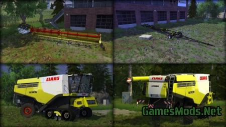 CLAAS LEXION 780 TT MR