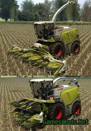 Claas Jaguar 980 Pack