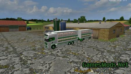 Scania Viehtransport Set V 1.0