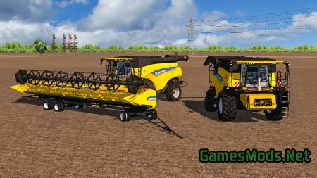 New Holland CR v2 MR