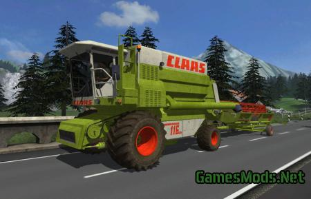 CLAAS COMMANDOR 116cs V 2.0